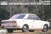 Datsun bluebird 510 1600 SSS  coupe 1/24