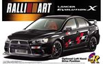 Mitsubishi LANCER EVOLUTION X RALLIART 1/24 pienoismalli