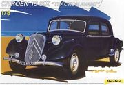 Citroen 15 six traction avant 1/8 pienoismalli