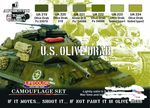 US Army olive drab  lifecolor maali