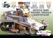 British WW2 Middle East Camouflage  lifecolor maali
