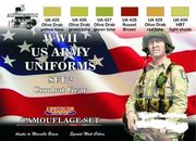 WW 2 Us Combat gear set 2 lifecolor maali