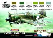 Australian air force WW2 RAAF set 2  lifecolor maali