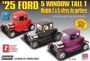 Ford 5 window coupe 1925  1/25 koottava pienoismalli