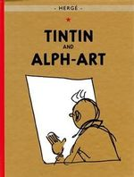 Tintin And Alpha-Art  albumi Englanninkielinen