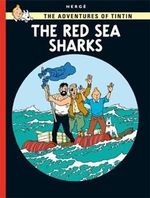 Tintin Red Sea Sharks  albumi Englanninkielinen