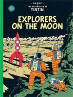 Tintin Explorers On The Moon  albumi Englanninkielinen