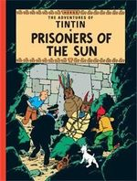 Tintin Prisoners Of The Sun  albumi Englanninkielinen