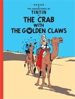 Tintin The Crab With The Golden Claw   albumi Englanninkielinen