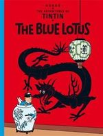Tintin The Blue Lotus  albumi Englanninkielinen