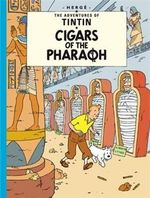 Tintin Cigars Of The Pharaoh  albumi Englanninkielinen