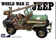 WW 2 Military jeep  1/25 pienoismalli