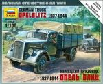 German truck Opel Blitz 1/100 snap kit