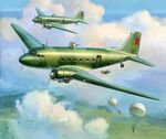 LI-2    1942-45 Sovjet transport plane   1/200