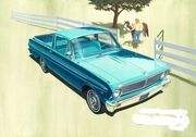Ford Falcon ranchero pick up -65  1/25 pienoismalli