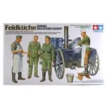 German Field Kitchen Scenery set  1/35