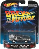 Delorean Back To The Future Hotwheels    1/64