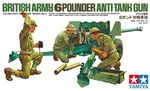 British 6-Pounder Anti-Tank Gun  1/35