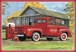 Ford F-100 Pick up 1953 coca cola  pick up truck  1/25