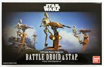 Star wars Battle Droid & Stap  1/12