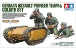 GERMAN ASSAULT PIONEER TEAM & GOLIATH SET 1/35