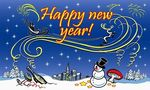Happy New Year lippu