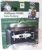 Williams F1 FW08C  1983 K.Rosberg  1/43