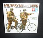 BRITISH PARATROOPER /BICYCLE  1/35