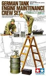 German Tank Engine Maintenance Crew   1/35