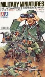 German machine gun group   1/35