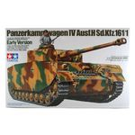 Panzerkampwagen IV Ausf.h Sd.kfz 161/1  early version  1/35