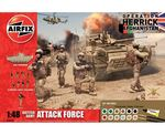 British Army Attack Force Gift Set 1/48