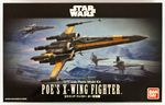Star Wars  The Force awakens  Poe's X-Wing Fighter  1/72