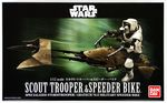 Star Wars  Scout Trooper & Speeder Bike     1/12