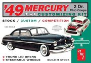 Mercury Club coupe 1949   1/25 pienoismalli