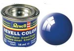Maalipurkki 14 ml    blue gloss   enamel  52