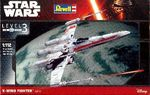 X-WING FIGHTER  STAR WARS   1/112   koottava pienoismalli