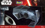 DARTH VADER TIE FIGHTER   STAR WARS   1/121  koottava pienoismalli