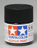 Semi gloss black X-18  10ml  acrylic  Tamiya